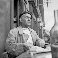 Charles-Albert Cingria par Roger Montandon, 1953 (fonds Ch.-A. Cingria, Centre des littératures en Suisse romande, UNIL)